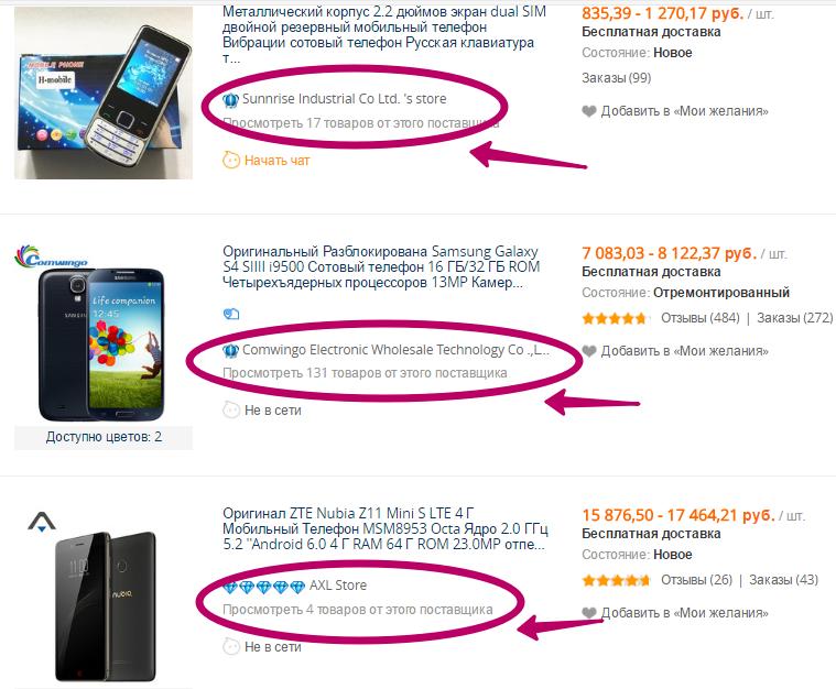 Рейтинг китайских телефонов с алиэкспресс
