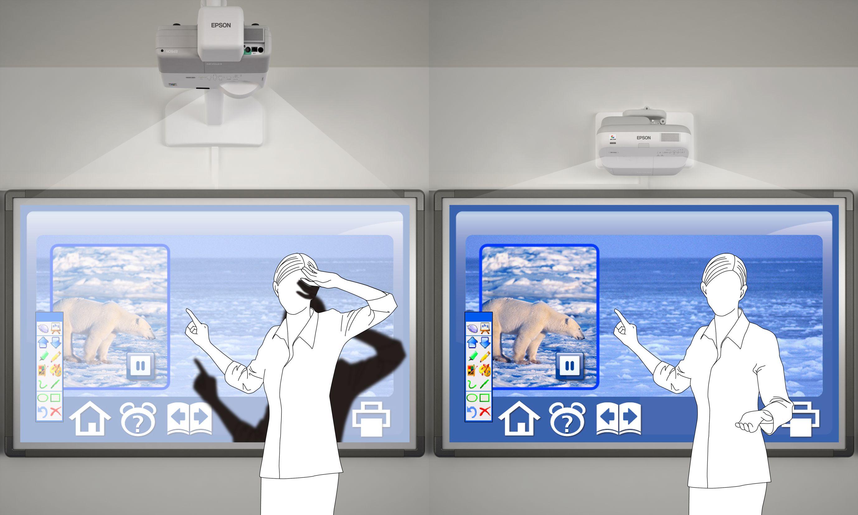 Короткофокусный проектор своими руками