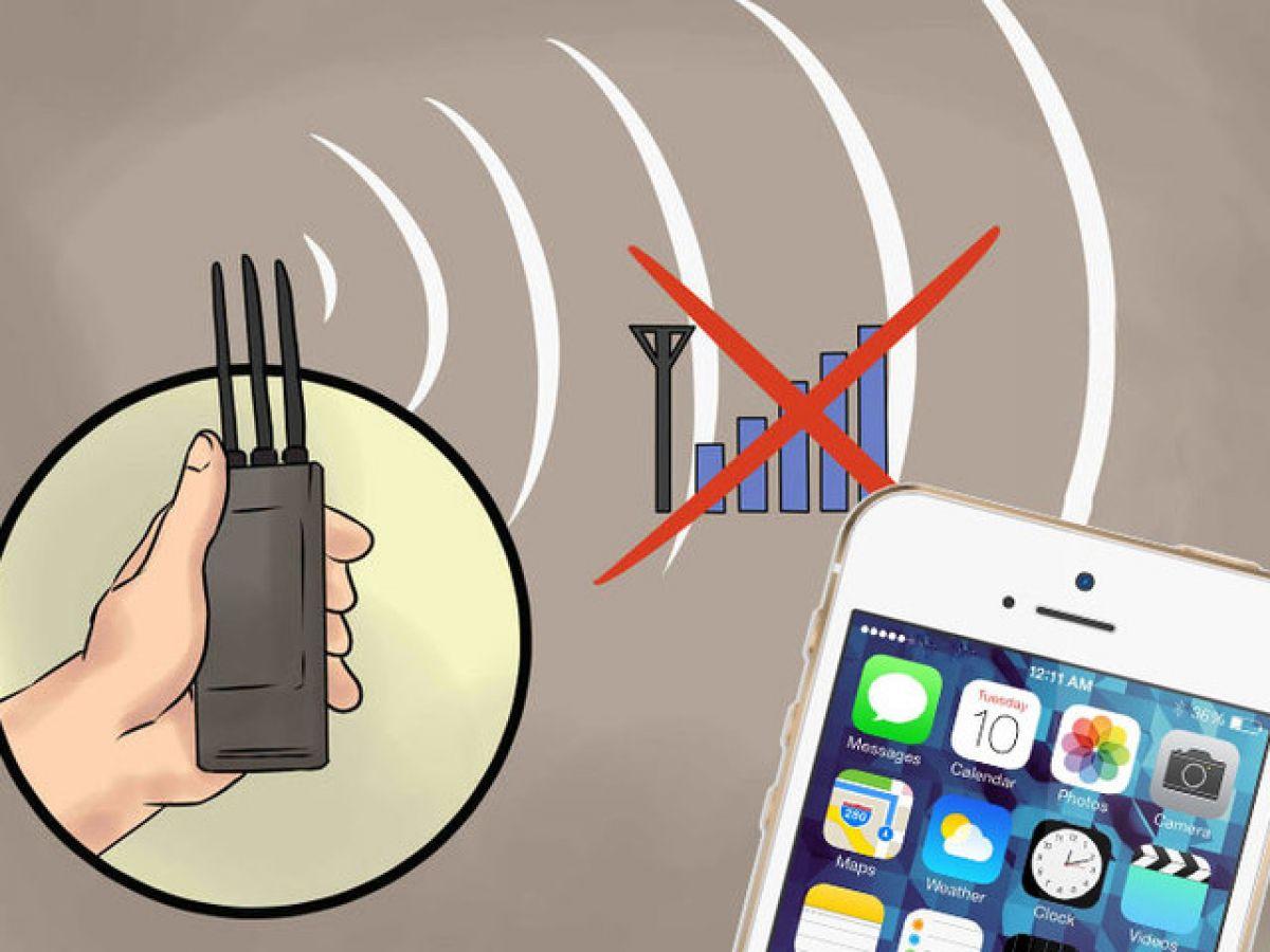 Глушение сотовой связи